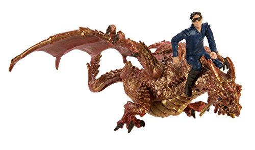 Safari Ltd Thunder Dragon with Drake Set (2)