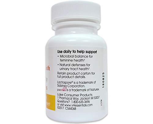 عروض vH essentials Probiotics with Prebiotics and Cranberry Feminine Health Supplement