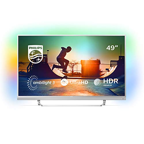 Philips - Smart TV Philips 49PUS6482/12 49' Ultra HD 4K LED USB x 2 HDR Wifi Silver