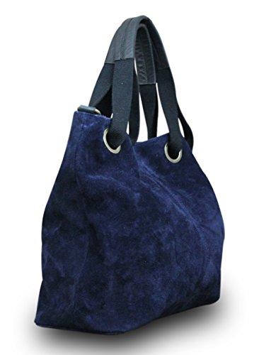 My-Musthave, Borsa tote donna Blu blu Medio