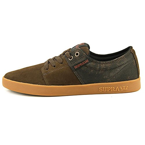 Peu Supra Gum Brick Demitasse mixte II Suede STACKS adulte Red FcAUPp