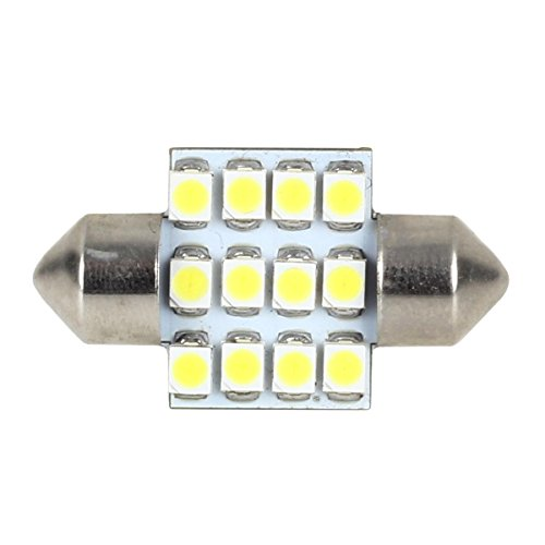 купол Partsam 4pcs 31mm Festoon