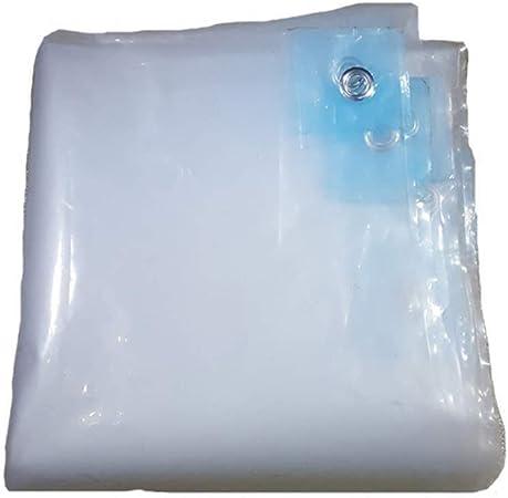Lona- Transparente lámina de polietileno de lona Hoja Pergola impermeable lona de plástico transparente a prueba de humedad Jardín Invernadero Invernadero cubierta de la lluvia (tamaño: 4x6m), Tamaño:: Amazon.es: Hogar