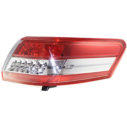 Evan-Fischer EVA15672048992 Tail Light for Toyota Camry 10-11 Outer Assembly USA Built Right Side