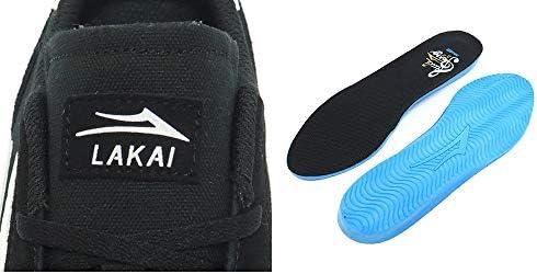 [ラカイ] SHOES シューズ スニーカー FLACO 2 黒 BLACK SUEDE スケートボード スケボー SKATEBOARD