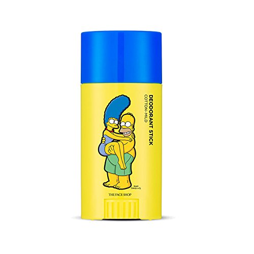 The-Face-Shop-Etiquette-Fresh-Deodorant-Stick-Mild-The-Simpsons-Collaboration