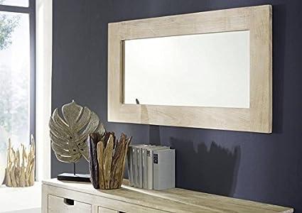 Mobili In Legno Bianco : Massello acacia mobili legno specchio mobili in legno massello
