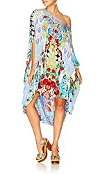 Masking Madness Round Neck Kaftan With Crystals
