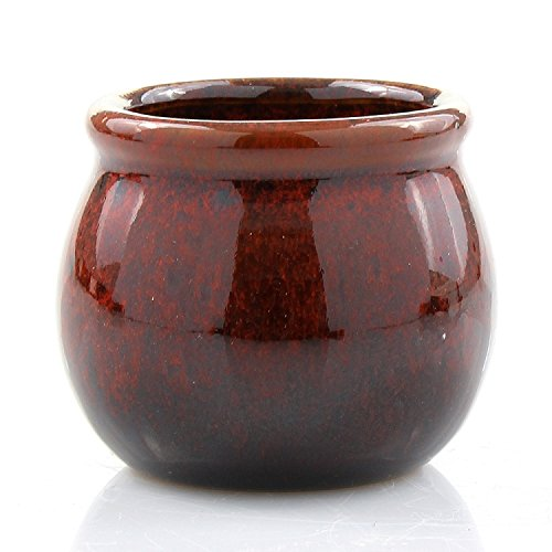 Red Bamboo Pot - 6