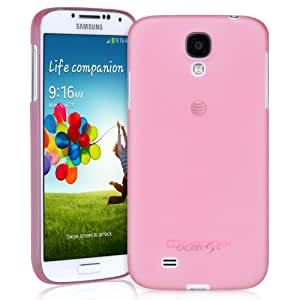 CaseCrown MN Transparent Snap On Case (Pink) for Samsung Galaxy S4 S IV i9500