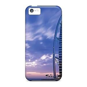 Shock-dirt Proof Burj Al Arab Case Cover For Iphone 5c