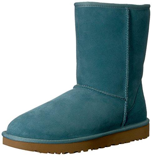 Ugg Womens Classic Short Ii Boot Verde Costiero