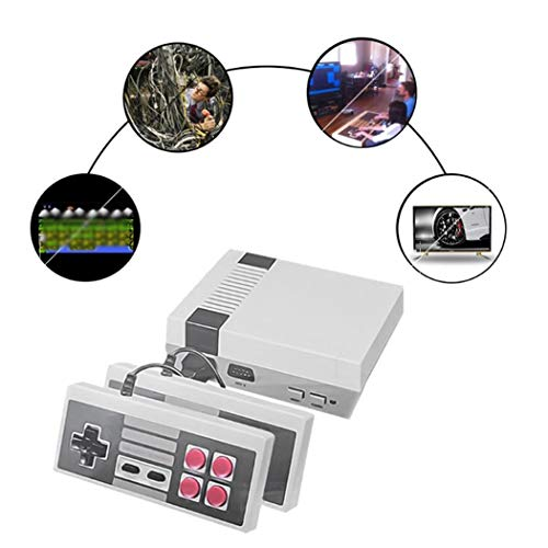 (Halffle Mini HD Multimedia Interface Output Retro Classic Video Family TV Game Console Accessories)