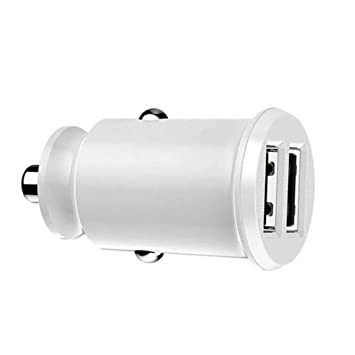 F-blue 3.1A Dual USB Mini Cargador del Coche del teléfono ...