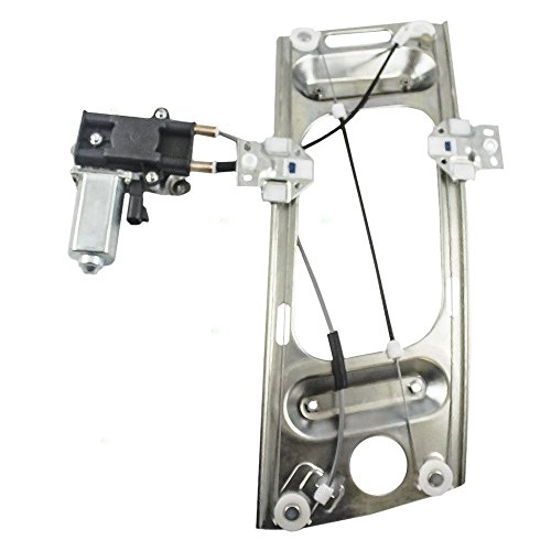 Front Left Driver Side Power Lift Window Regulator with Motor for 1997 1998 1999 2000 2001 2002 Pontiac Grand Prix & 2000 2001 2002 2003 2004 2005 2006 2007 Chevrolet ()