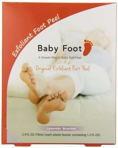 Bébé parfumée pieds soins des pieds, comte de lavande 3