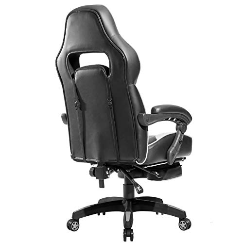 Office Executive Chair Leather,JULYFOX Reclining Gaming ...