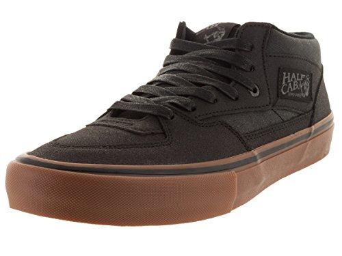 Vans Skate Shoe Men Half Cab Pro Skate Shoes (xtuff) black/gum