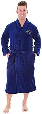 Personalized Customized Luxurious Plush Robe Kimono Bathrobe for Women and Men