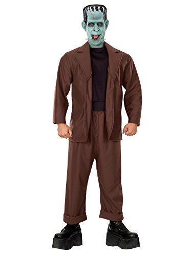 Rubie's The Munsters Adult Herman Munster, Brown, X-Large Costume]()