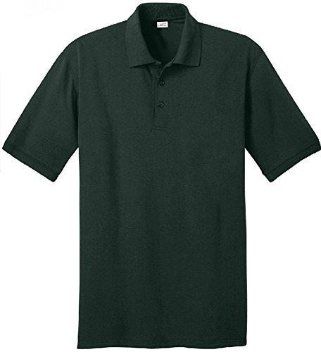 Joe's USA Men's Tall Polo Shirt in 21 Colors. Tall Sizes: LT-4XLT