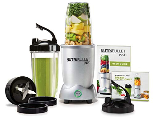 Nutri Bullet N12-1001 NutriBullet Pro Plus One Size Grey (Best Blender For Protein Shakes)