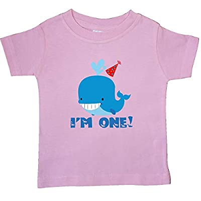 inktastic - Whale 1st Birthday Baby T-Shirt 25e5f