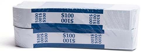 2000 Bands Barred ABA $100 Currency Band Bundles