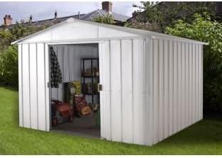 Yardmaster Apex Metal caseta de jardín – 10 x X.