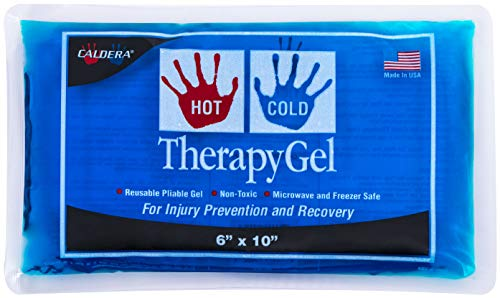 CALDERA Hot & Cold Therapy Gel - Relief From Aches & Pains, Dental Pain, Insect Bites, Joint Pains, Menstrual Cramps and Migraines (Size 6 x 10)