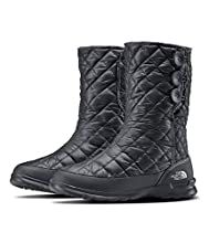 The North Face Women's Thermoball Button Boot, Zinc Grey/Spackle Grey, 9 B