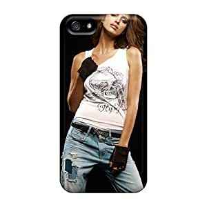 Tpu Case Cover For Iphone 5/5s Strong Protect Case - Sexy Irina Shayk Design