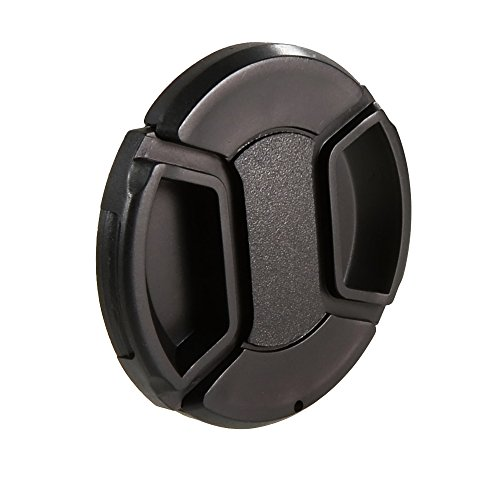CamDesign 55MM Snap-On Front Lens Cap/Cover for Canon, Nikon