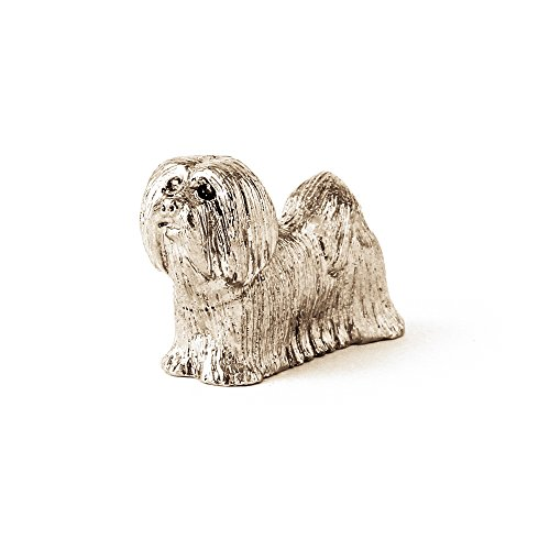 (Lhasa Apso Made in UK Artistic Style Dog Figurine)