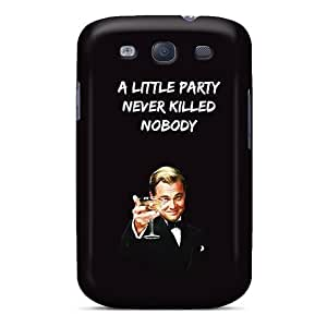 VIVIENRowland Samsung Galaxy S3 Scratch Resistant Hard Cell-phone Cases Allow Personal Design Nice Gatsby A Little Party Image [nDK5006ByMG]