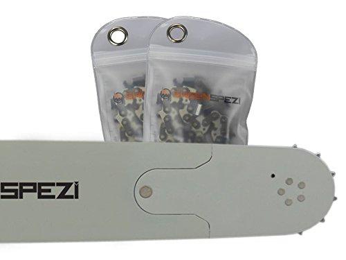70cm Schwert-Set Solid Drive mit 2 Halbmei/ßelketten 3//8 92TG 1,5mm passend f/ür Dolmar PS7900