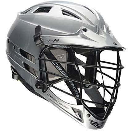 Cascade Silver CPV-R Lacrosse Helmet Black ()