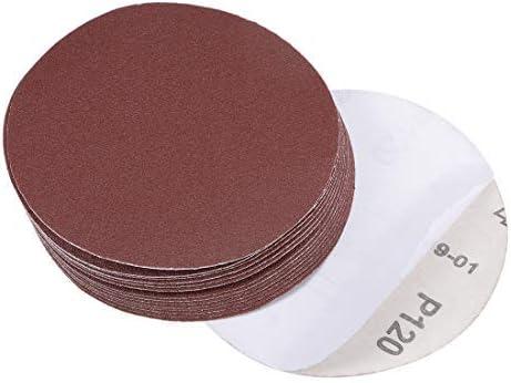 - 5-Inch Psa Sanding Disc, Aluminum Oxide Adhesive, zurück Sandpaper, 120 Grit, 15 Pieces