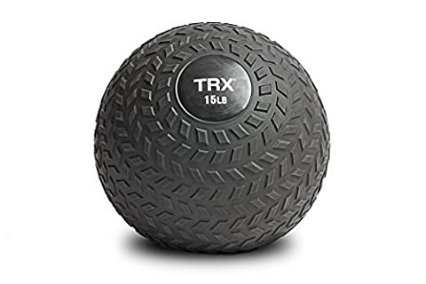 TRX Training - TRX Slam Ball with Easy-Grip Textured Surface and Ultra-Durable Rubber Shell (10 (Bike Vertical Floor Stand)