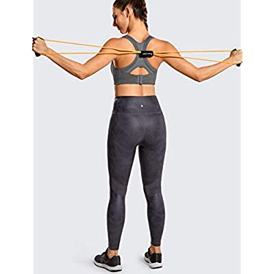 SYROKAN Women's Front Adjustable Lightly Padded Wirefree Racerback High Impact Sports Bra at Women's Clothing store