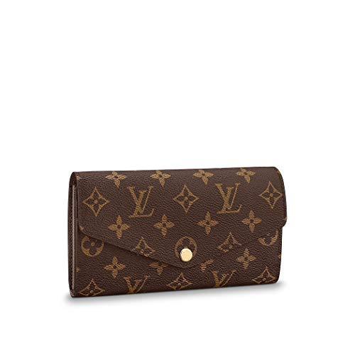 Authentic Louis Vuitton Monogram Canvas Sarah Wallet Article: M60531