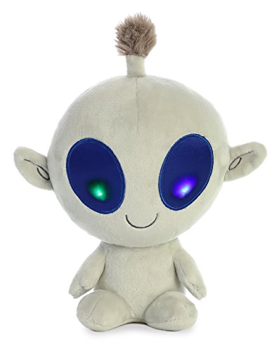 Aurora Bob Light Up Alien Plush, Grey -