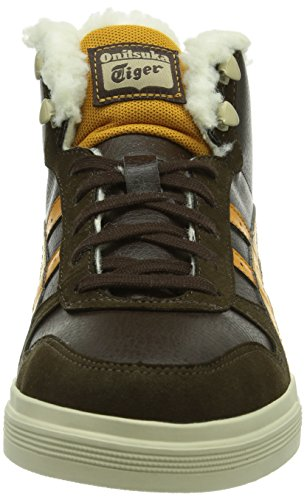 Aaron Mode Brown Adulte Marrondark 6271 tan Onitsuka MtBaskets Tiger Mixte pGLSUMqzV