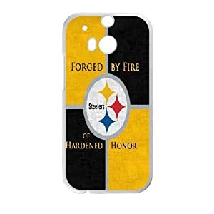 HTC One M8 Phone Case White pittsburgh steelers JEL173200