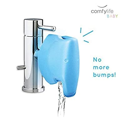 Comfylife spout cover protector + toothbrush holder