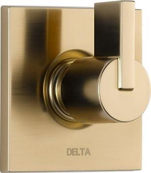 Delta Faucet T11853-CZ Vero 3 Setting Diverter Trim, Champagne ...
