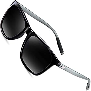 wearPro Wayfarer Sunglasses for Men Polarized Vintage Men`s Sun Glasses WP1003