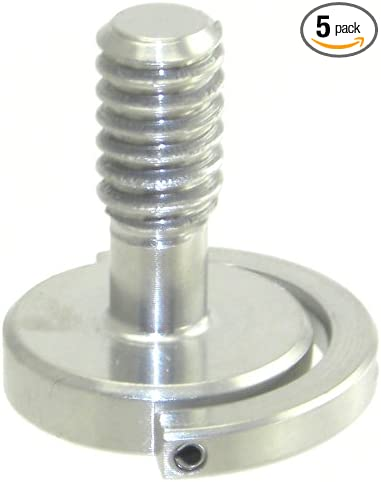 2pcs long 1//4-20 metal Socket flat Screw for camera tripod quick release plate