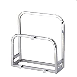 Stainless steel knife cutting board rack shelving storage rack kitchen shelf kitchen creative supplies