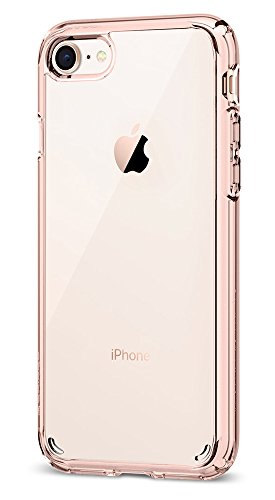 Price comparison product image Spigen Ultra Hybrid [2nd Generation] iPhone 7 Case / iPhone 8 Case with Air Cushion Technology for Apple iPhone 7 (2016) / iPhone 8 (2017) - Rose Crystal